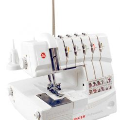 SINGER | Professional 14T968DC Serger Overlock with 2-3-4-5 Stitch Capability, 1300 Stitches per minute, & Self Adjusting - Sewing Made Easy, White