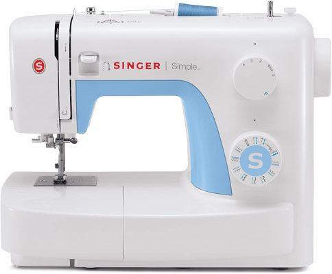 Singer 3221 Simple Sewing Machine with Automatic Needle Threader, 21 Stitches by SINGER
