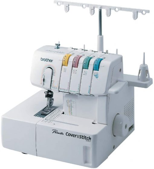 cover stitch, serger, machine